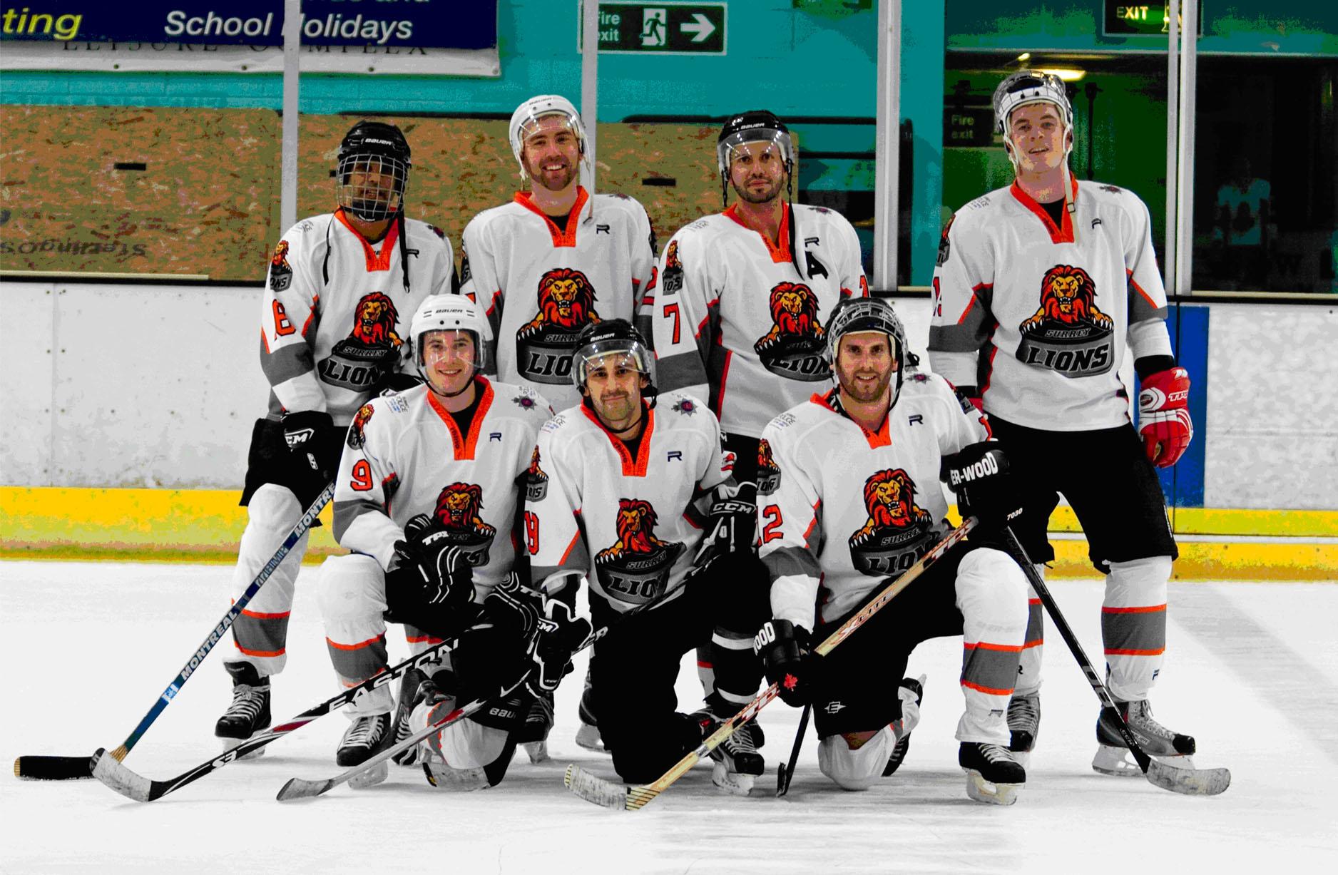 surrey lions ice hockey team runnymede residents community web site