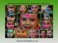 Fascinating Faces - Runnymede Hill Vet Hospital Fun Day 20123
