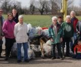 The Chertsey Meads litter pick