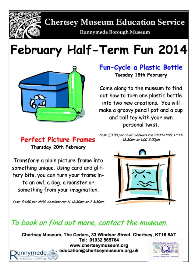 February half term 2014 poster copy