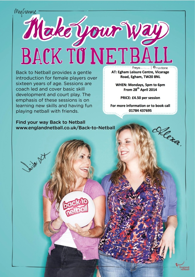 Back to netball Poster copy