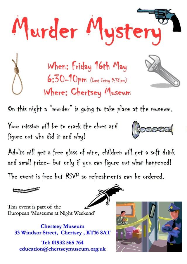 Murder Mystery Poster 2014