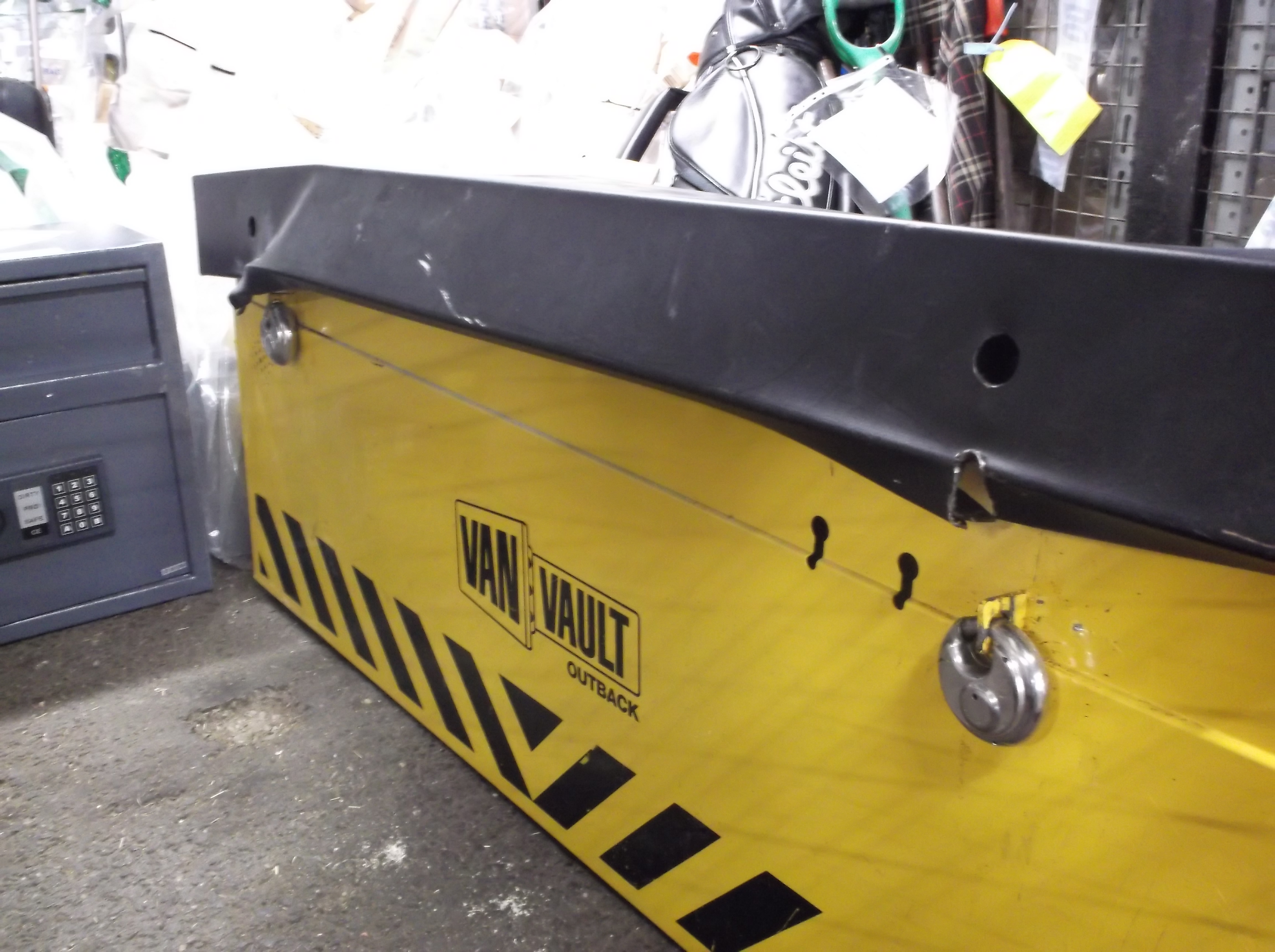 Appeal to trace owner of safe found in stolen vehicle | Runnymede ...